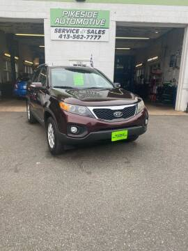 2011 Kia Sorento for sale at Pikeside Automotive in Westfield MA