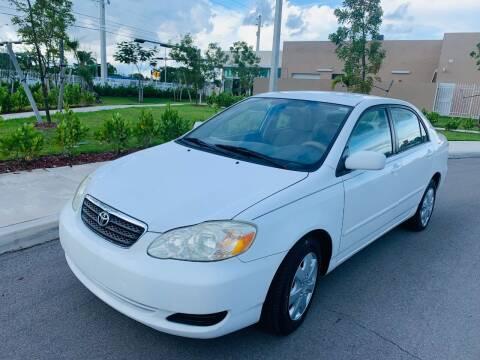 2007 Toyota Corolla for sale at LA Motors Miami in Miami FL