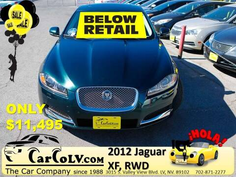 2012 Jaguar XF for sale at The Car Company in Las Vegas NV