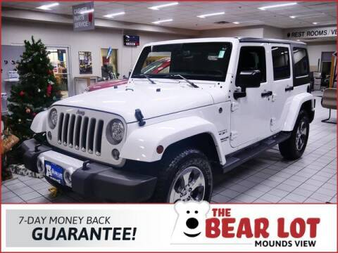 2017 Jeep Wrangler Unlimited for sale at Rydell Auto Outlet in Mounds View MN