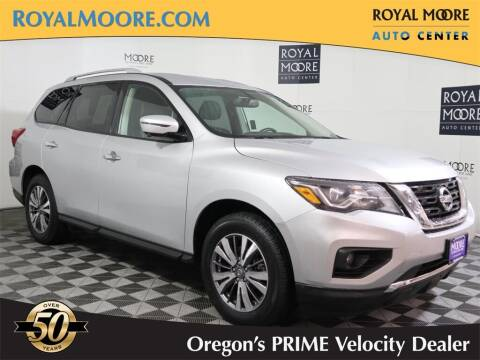 2019 Nissan Pathfinder for sale at Royal Moore Custom Finance in Hillsboro OR