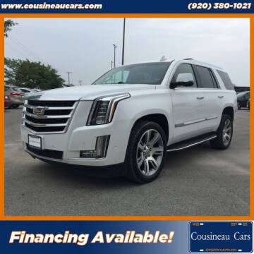 2017 Cadillac Escalade for sale at CousineauCars.com in Appleton WI