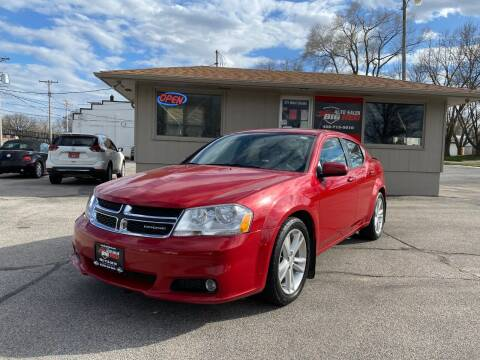 2011 Dodge Avenger for sale at Big Red Auto Sales in Papillion NE