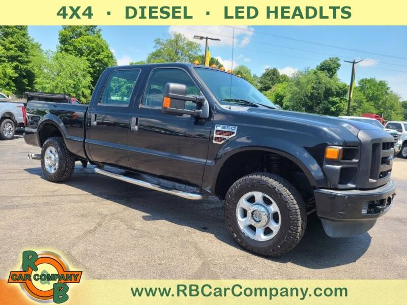 2010 Ford F-250 Super Duty for sale at R & B CAR CO - R&B CAR COMPANY in Columbia City IN