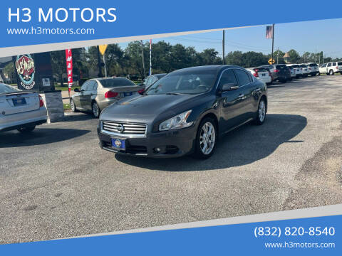 2013 Nissan Maxima for sale at H3 MOTORS in Dickinson TX