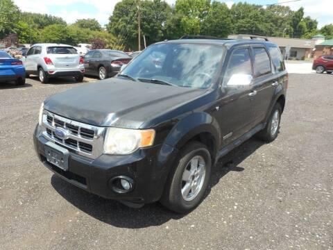 2008 Ford Escape for sale at Auto Center Elite Vehicles LLC in Spartanburg SC