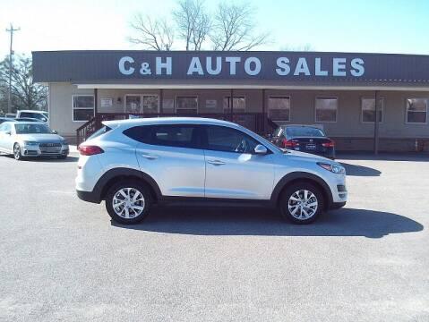 2019 Hyundai Tucson for sale at C & H AUTO SALES WITH RICARDO ZAMORA in Daleville AL