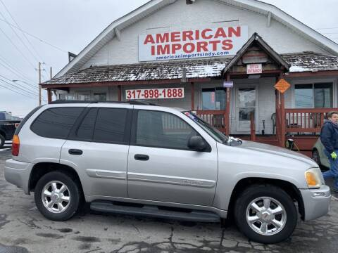 2004 GMC Envoy for sale at American Imports INC in Indianapolis IN