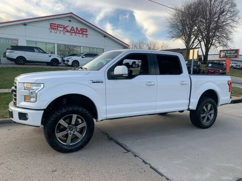 2016 Ford F-150 for sale at Efkamp Auto Sales LLC in Des Moines IA