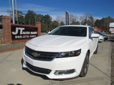 2018 Chevrolet Impala for sale at J T Auto Group in Sanford NC