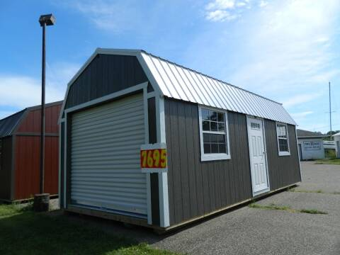 2020 Premier Buildings 12x24 lofted barn garage for sale at Triple R Sales in Lake City MN