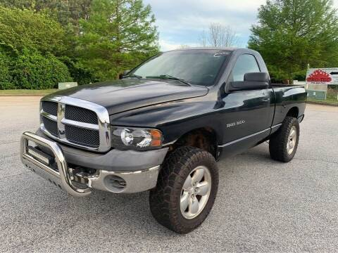 2002 Dodge Ram Pickup 1500 for sale at Two Brothers Auto Sales in Loganville GA