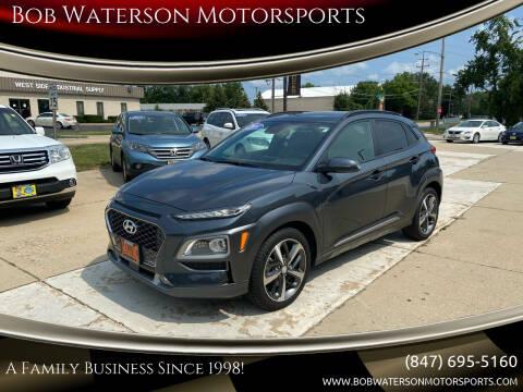 2018 Hyundai Kona for sale at Bob Waterson Motorsports in South Elgin IL