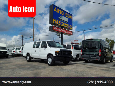 2014 Ford E-Series Cargo for sale at Auto Icon in Houston TX