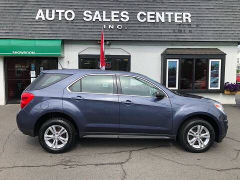 2014 Chevrolet Equinox for sale at Auto Sales Center Inc in Holyoke MA