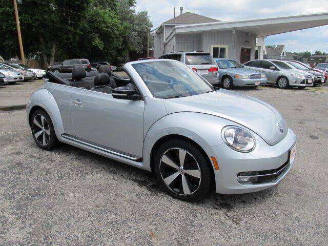 2013 Volkswagen Beetle Convertible for sale at St. Mary Auto Sales in Hilliard OH