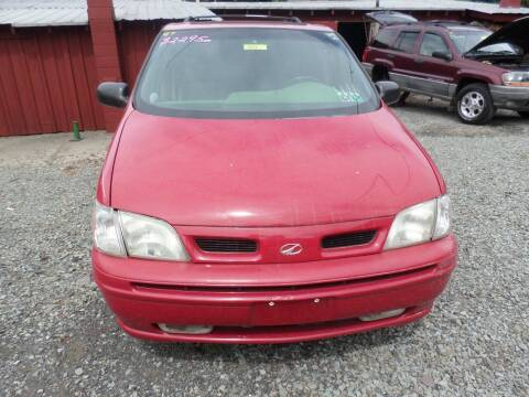 1997 Oldsmobile Silhouette for sale at FERNWOOD AUTO SALES in Nicholson PA