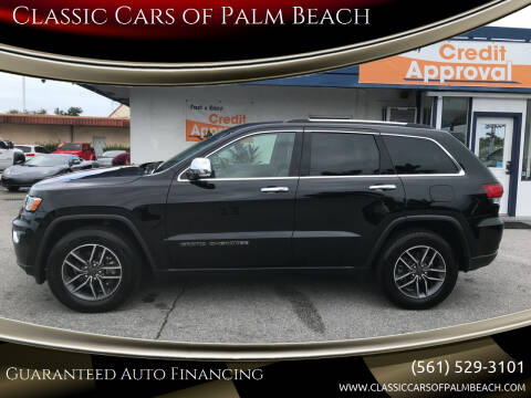2020 Jeep Grand Cherokee for sale at Classic Cars of Palm Beach in Jupiter FL