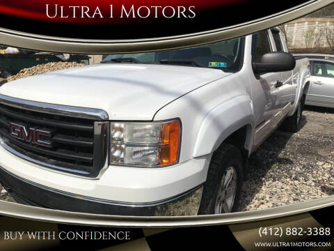 2007 GMC Sierra 1500 for sale at Ultra 1 Motors in Pittsburgh PA