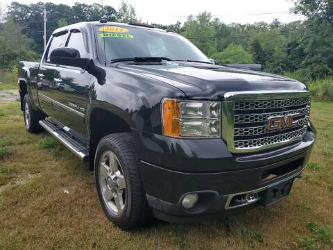 2011 GMC Sierra 2500HD for sale at Oxford Auto Sales in North Oxford MA