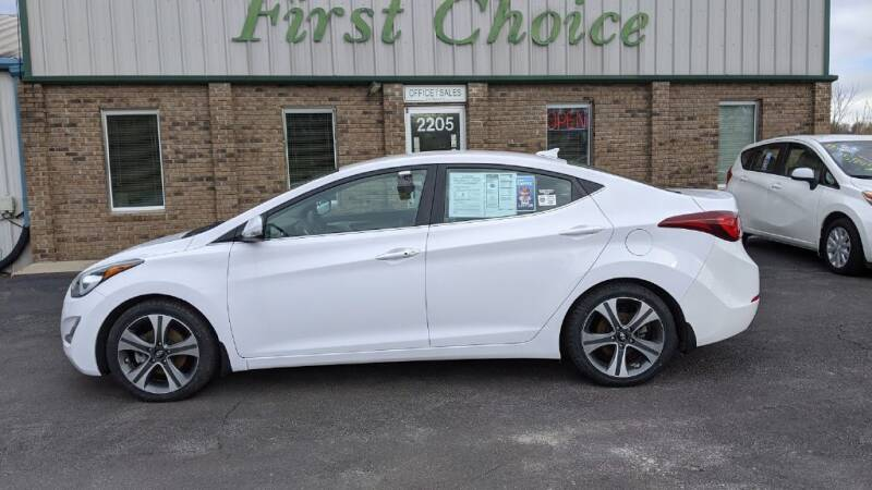 2016 Hyundai Elantra for sale at First Choice Auto in Greenville SC