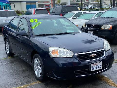 2007 Chevrolet Malibu for sale at North County Auto in Oceanside CA