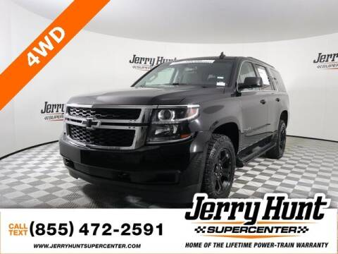 2018 Chevrolet Tahoe for sale at Jerry Hunt Supercenter in Lexington NC