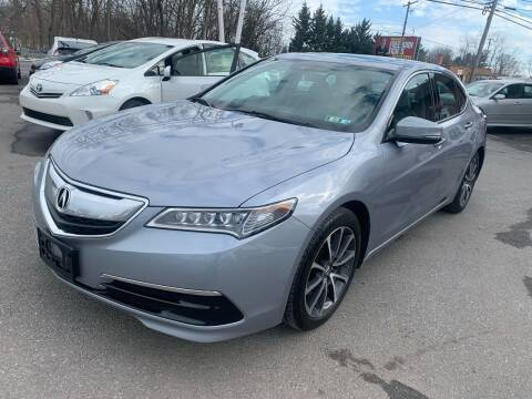2015 Acura TLX for sale at Sam's Auto in Akron PA