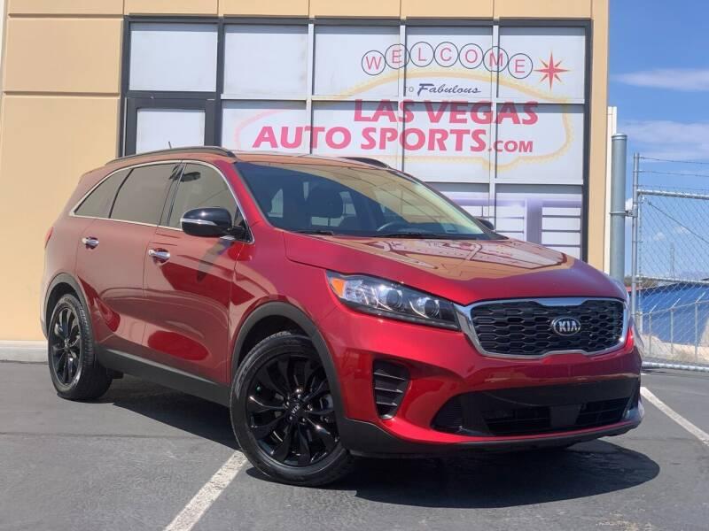 2020 Kia Sorento for sale at Las Vegas Auto Sports in Las Vegas NV