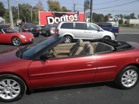 2004 Chrysler Sebring for sale at CRYSTAL MOTORS SALES in Rome NY