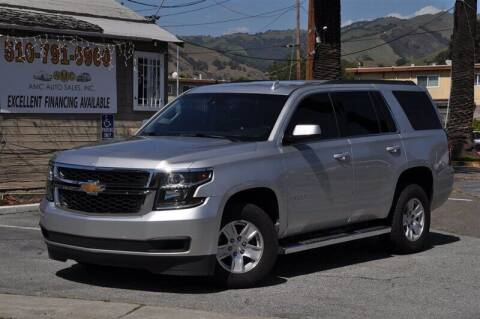 2016 Chevrolet Tahoe for sale at AMC Auto Sales, Inc. in Fremont CA