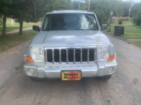 2006 Jeep Commander for sale at Unique Motors in Rock Island IL
