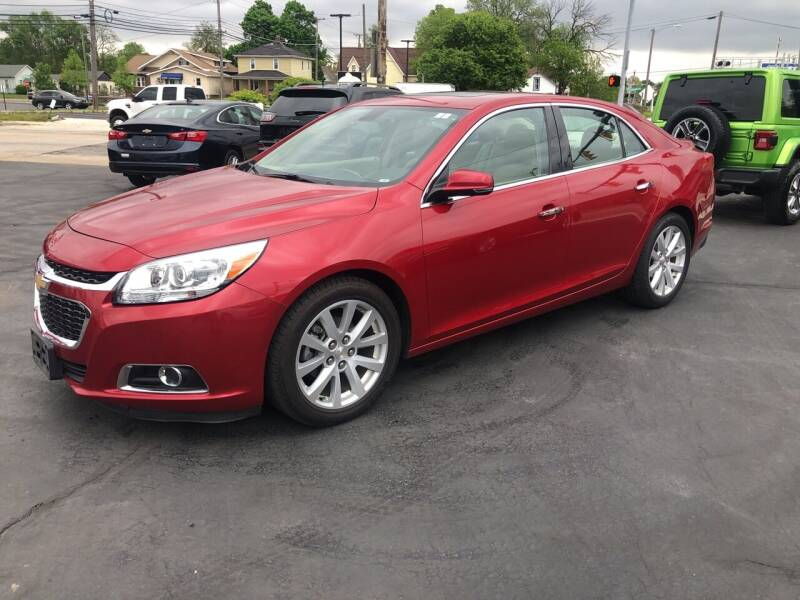 2014 Chevrolet Malibu for sale at N & J Auto Sales in Warsaw IN