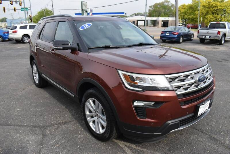2018 Ford Explorer for sale at World Class Motors in Rockford IL