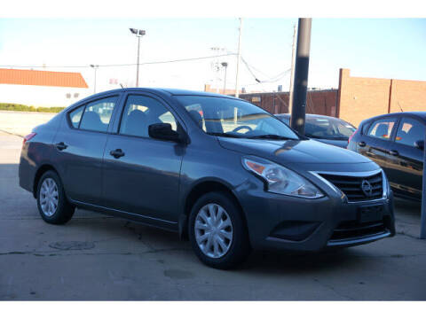 2017 Nissan Versa for sale at Sand Springs Auto Source in Sand Springs OK