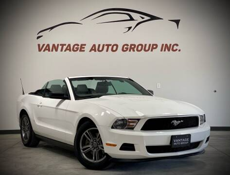 2012 Ford Mustang for sale at Vantage Auto Group Inc in Fresno CA