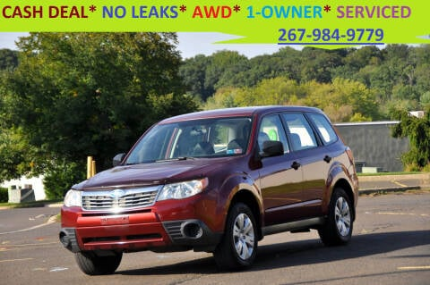 2009 Subaru Forester for sale at T CAR CARE INC in Philadelphia PA