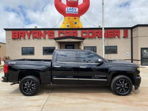2017 Chevrolet Silverado 1500 for sale at Bryans Car Corner in Chickasha OK