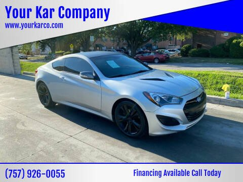 2016 Hyundai Genesis Coupe for sale at Your Kar Company in Norfolk VA