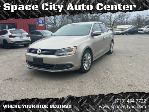 2014 Volkswagen Jetta for sale at Space City Auto Center in Houston TX