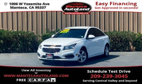 2016 Chevrolet Cruze Limited for sale at Manteca Auto Land in Manteca CA