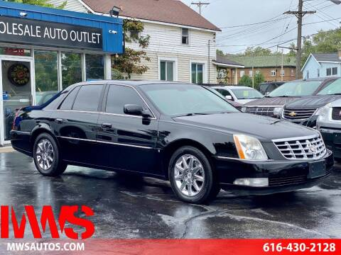 2009 Cadillac DTS for sale at MWS Wholesale  Auto Outlet in Grand Rapids MI