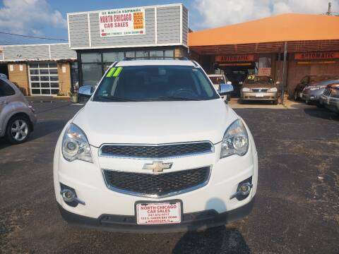 2011 Chevrolet Equinox for sale at North Chicago Car Sales Inc in Waukegan IL