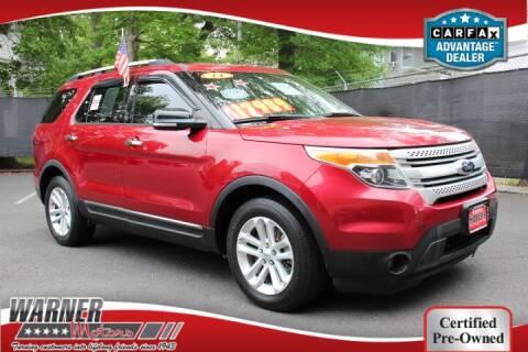 2014 Ford Explorer for sale at Warner Motors in East Orange NJ