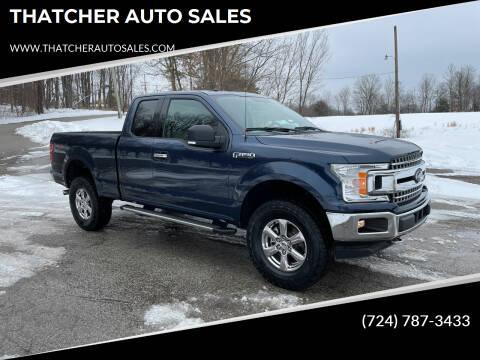 2018 Ford F-150 for sale at THATCHER AUTO SALES in Export PA