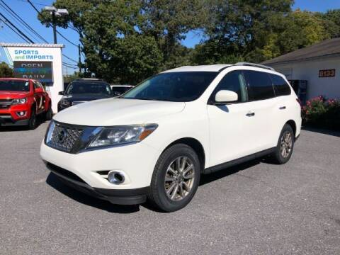 2016 Nissan Pathfinder for sale at Sports & Imports in Pasadena MD