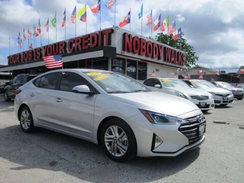 2019 Hyundai Elantra for sale at Giant Auto Mart 2 in Houston TX