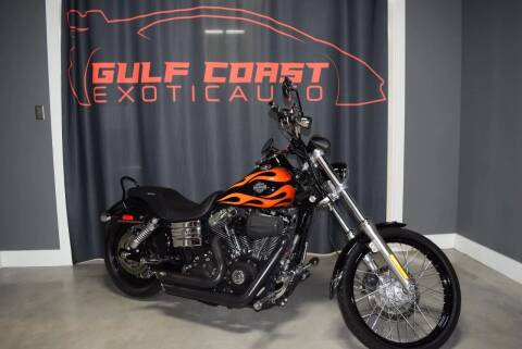 2011 Harley Davidson  Dyno wide Glide  for sale at Gulf Coast Exotic Auto in Biloxi MS