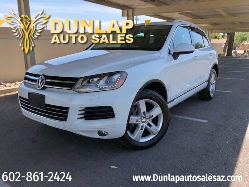 2014 Volkswagen Touareg for sale in Phoenix, AZ
