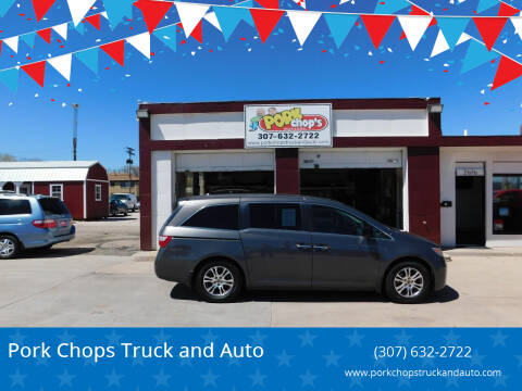 2013 Honda Odyssey for sale at Pork Chops Truck and Auto in Cheyenne WY